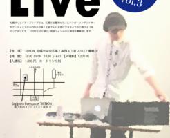 札幌クリエイターズライブvol.3